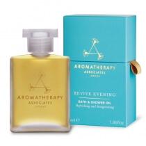 Aromatherapy Associates Revive Evening Bath & Shower Oil Wieczorny pobudzający olejek do kąpieli i pod prysznic 55 ml