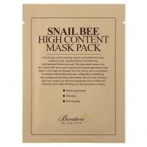 Benton Snail Bee High Content Mask Pack Maska w płacie wykonanym z czystej bawełny