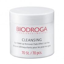 Biodroga Bioscience Eye Make Up Remover Beztłuszczowe płatki do demakijażu oczu 70 szt.