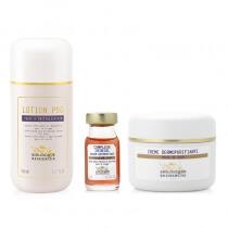 Biologique Recherche Skóra Trądzikowa ZESTAW Lotion P50 150 ml, Complex Iribiol 8 ml, Creme Dermopurifiante 50 ml