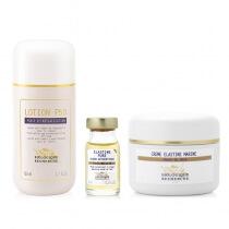 Biologique Recherche Skóra z pierwszymi oznakami starzenia ZESTAW Lotion P50 150 ml + Serum Elastine Pure 8ml + Creme Elastine Marine 50 ml