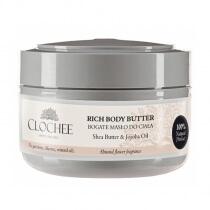 Clochee Rich Body Butter Bogate masło do ciała - migdałowo-kwiatowe 250 ml