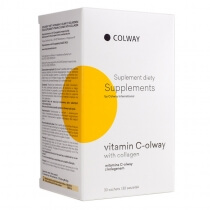 Colway International Vitamin C-olway With Collagen Witamina C z kolagenem 30 szt.