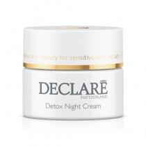Declare Detox Night Cream Młodzieńcza doskonałość. Detox krem na noc 50 ml