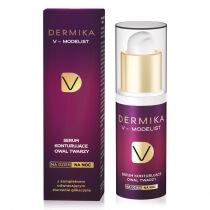 Dermika Concentrated Face Oval Modelling Serum 60+ Serum konturujące owal twarzy na dzień i noc 30 ml