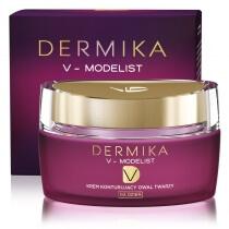 Dermika Face Oval Modelling Day Cream 60+ Krem konturujący owal twarzy na dzień 50 ml