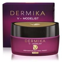 Dermika Face Oval Modelling Night Cream 60+ Krem konturujący owal twarzy na noc 50 ml
