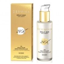 Dermika Gold & Glow Rejuvenating Serum Serum odmładzające na dzień 30 ml