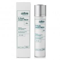Dottore C-flush Cream Rich 2 % Odżywczo-przeciwzmarszczkowy krem z witaminą C 50 ml