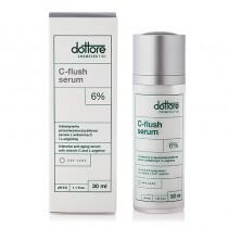 Dottore C-flush Serum Intensywnie przeciwzmarszczkowe serum z 6% witaminą C 30 ml