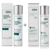 Dottore Rossatore Cream Blur Effect + Rossatore Resurfacing Cream ZESTAW do cery naczyniowej 50 ml + 50 ml