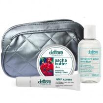 Dottore Summer Set ZESTAW krem pod oczy i na powieki 15ml + sacha butter 50ml + sensitore aqua sensitive 100ml