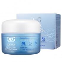 Dr G Aquasis Water Vital Sleeping Mask Duo funkcyjna maseczka do używania podczas snu 80 ml