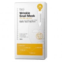 Dr G Wrinkle Snail Mask Box Maseczki w płachcie 10 szt.