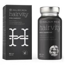 Halier Hairvity Dietary Supplement Men Suplement diety do włosów dla mężczyzn 60 kaps.