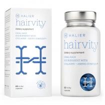 Halier Hairvity Dietary Supplement Women Suplement diety do włosów 60 kaps.