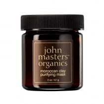 John Masters Organics Moroccan Clay Purifying Mask Glinka marokańska - maseczka oczyszczająca 57 g