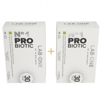 Lab One N°1 ProBiotic ZESTAW Dwupak ProBiotic suplement diety 2x 30 kaps.