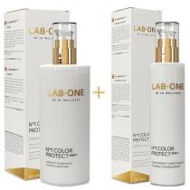 Lab One No1 Color Protect step 1 + No1 Color Protect step 2 ZESTAW Szampon włosy farbowane 400 ml + Odżywka do włosów farbowanych 200 ml