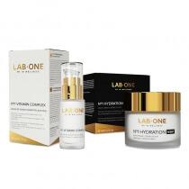 Lab One No1 Hydration Night + No1 Vitamin Complex ZESTAW Pełna regeneracja - Krem nawilżający na noc 50 ml + Serum do twarzy 30 ml