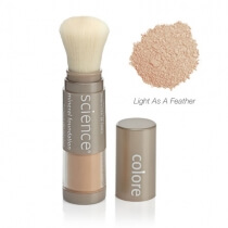 Colorescience Loose Mineral Foundation Brush Minerały w pędzlu SPF 20 - kolor Light As A Feather (jasny ciepły) 6 g