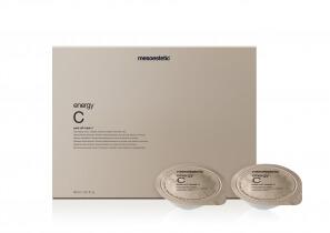 Mesoestetic Energy C Peel Off Mask Maska rozświetlająca 6 x 5 ml