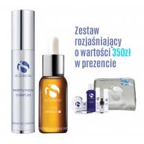 iS Clinical Moisturizing Complex + C-Eye Serum Advance+ Krem nawilżający, Serum pod oczy + zestaw PROMIENNA SKÓRA i Voucher 10% RABATU 50ml, 15ml