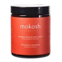 Mokosh Bronzing Body&Face Balm Orange&Cinnamon Brązujący balsam do ciała i twarzy, Pomarańcza z cynamonem 180 ml