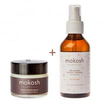 Mokosh Lanoline + Argan Oil ZESTAW Lanolina hipoalergiczna 15 ml + Olej arganowy dla dzieci i niemowląt 100 ml