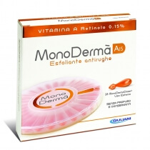 MonoDerma MonoDerma A15 Zawiera czystą witaminę A (retinol) w stężeniu 0,15% - 28 kaps.