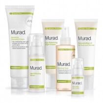 Murad Resurgence Zestaw pielęgnacyjny na noc z fitohormonami 200 ml, 180 ml, 30 ml, 50 ml, 15 ml, 50 ml