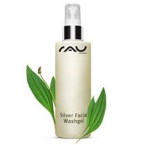 RAU Cosmetics Silver Facial Washgel Żel oczyszczający z nanosrebrem i babką lancetowatą 200 ml