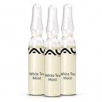 RAU Cosmetics White Tea Moist Ampoules Ampułki nawilżające z białą herbatą i hialuronem 3x2 ml