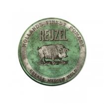 Reuzel Green Grease Medium Hold Pomada woskowa 35g