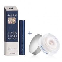 Revitalash RevitaLash® LIGHT ZESTAW Światło Odżywka do rzęs 1 ml + Baza pod makijaż 15 ml