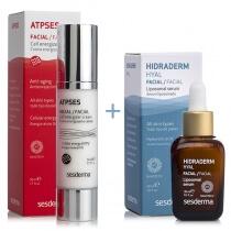 Sesderma Atpses Cream + Hidraderm Hyal Serum ZESTAW Krem nawilżający energetyzujący komórki 50 ml + Serum 30 ml