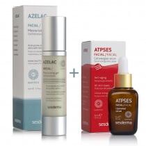 Sesderma Azelac + Atpses ZESTAW Żel nawilżający do twarzy + Serum energetyzujące komórki 50 ml , 30 ml