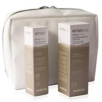 Sesderma Retises + Kosmetyczka ZESTAW Regenerujący krem przeciwzmarszczkowy 0,5% 30 ml + Przeciwzmarszczkowy krem pod oczy 0,05% 15 ml