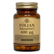 Solgar Folian (Metafolin®) 400 µg 50 tabletek