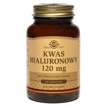 Solgar Kwas Hialuronowy 120 mg 30 tabletek