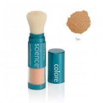 Colorescience Sunforgetable Mineral Sunscreen Brush Mineralny puder ochronny SPF 50 w pędzlu - kolor Tan 6 g