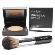 Swederm Bronzing Stone + Big Brush ZESTAW Kamień brązujący + duży pędzel
