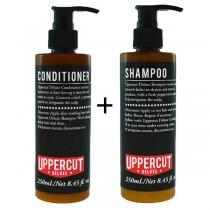 Uppercut Deluxe Shampoo + Conditioner ZESTAW Szampon i odżywka do włosów 250 ml, 250 ml