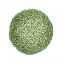 Yasumi Green Tea Konjac Sponge S Gąbka konjac do mycia twarzy z zieloną herbatą