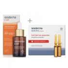 Sesderma C-VIT Liposomal Serum + Seskavel Anti-Hair Loss Ampoules ZESTAW Serum liposomowe 30 ml + Ampułki przeciw wypadaniu włosów 12x8 ml